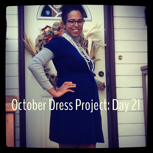 #ODP: Day 21 turtleneck and beads, oh my! #ABeautifulMess