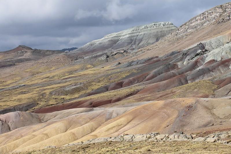Pastel colours near Punta Chucopampa