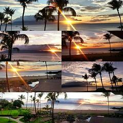 Your window to paradise. #maui @sheratonmaui @kaanapaliresort #instacollage #skyporn #sunset #kaanapali #coreymountphotography