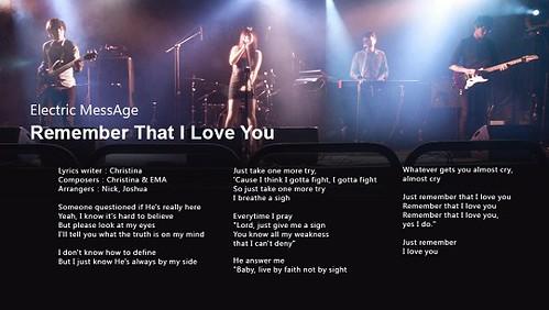 iCD_127 Electric MessAge 電子混亂世代《You Should Know》iCD專輯官方下載:http://www.iwant-music.com/cd.php?re_id=154   E.M.A.成軍至今已邁入第五年,經歷過漫長的努力,終於在今年6月5日發行首張全創作EP《You Should Know》, E.M.A.的音樂正是逸出都會夜晚夢境的綺麗律動,為這世代重新定義著浪漫。 他們就像生長的這個城市,同時繼承遠古的血脈,也背負新世界的期許,只希望創造出一個以音符搭建的空間,給所有在其中躁動不安的靈魂一次喘息抒發的機會。 因此,E.M.A.誠摯地邀請大家和他們一起,Keep on groovin'in the free world!   《You Should Know》EP 繼承正統Acid-Jazz(酸爵士)血脈,點綴迷離電子幻覺,有紮實的jazz(爵士)手法和音樂性為基底, 並隨時代躍進摻入,DiscoFunk(迪斯可放克)、Electro(電子)、hip-hop(嘻哈)等嶄新元素的新式R&B(節奏藍調)音樂。 時而深情款款,時而熱力四射,最後以美麗的旋律勾出心底最斑斕的色彩。   想聽好音樂嗎?想下載免費好音樂嗎? 快來銀河愛音樂,好音樂讓你通通免費打包帶回家!http://www.iwant-music.com/ Want to listen to good music? Want to download free music? Come Galaxy love music, good music make you all free packaged to take home!