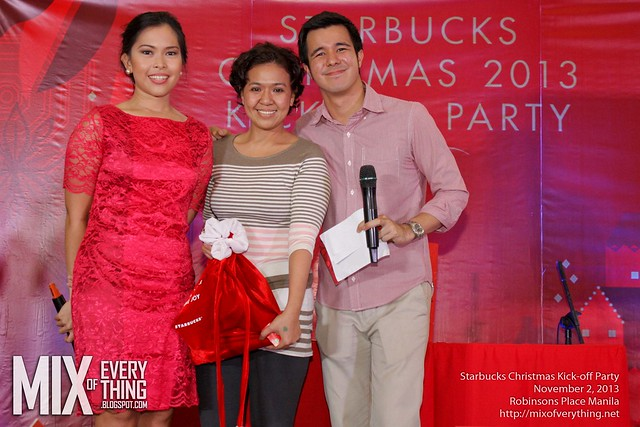 Starbucks Christmas Kickoff party