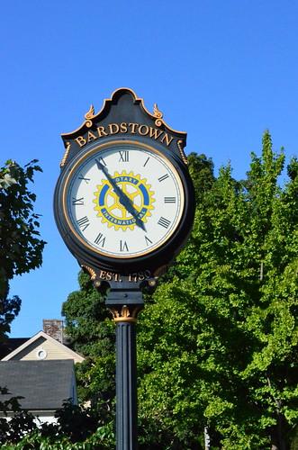 Bardstown Clock