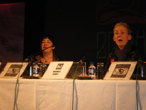 WFC13 - Joanne Harris & Muriel Gray