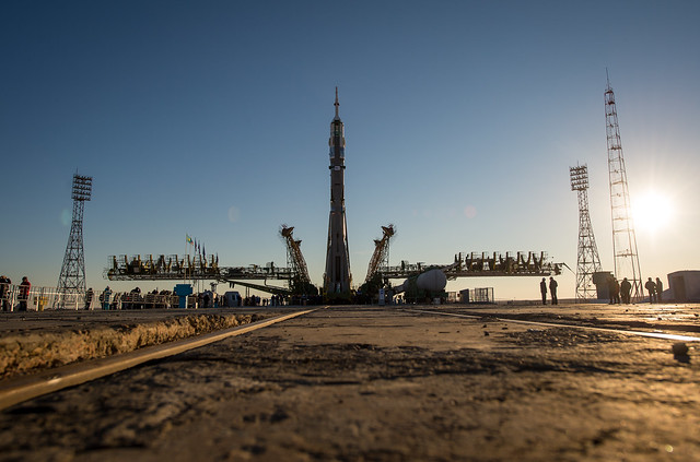 Expedition 38 Soyuz Rollout (201311050023HQ)