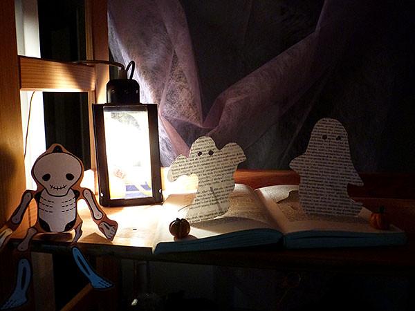 livre fantôme la nuit