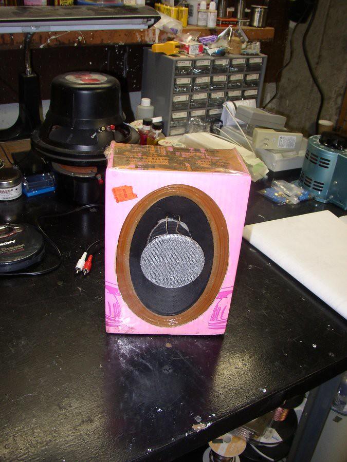 Mind blower speakers