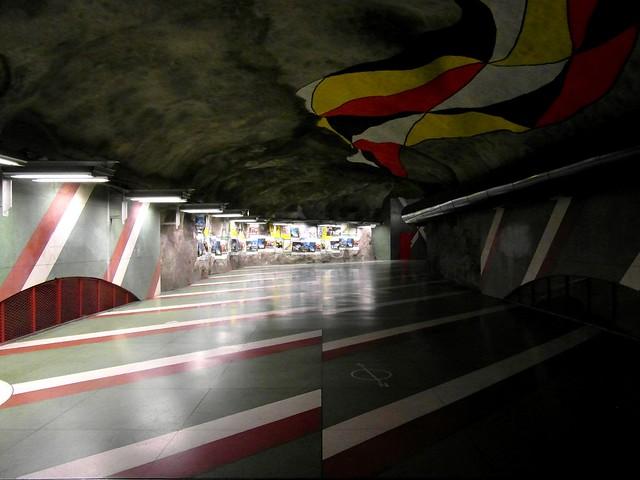 Stockholm - Tunnelbana - Kungsträdgården