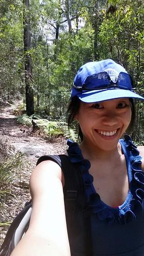 Glenbrook Bushwalking Selfie