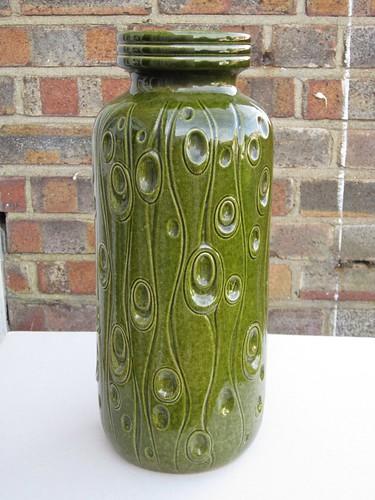 West German Pottery Vase Scheurich Koralle Design Mid Century Modern £3 Car Boot Sale Find 2012