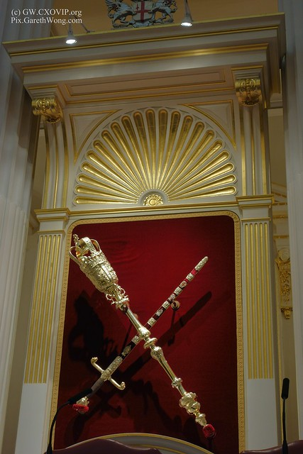 London Lord mayor's mace sword at Egyptian Room Mansion House from RAW _DSC8892
