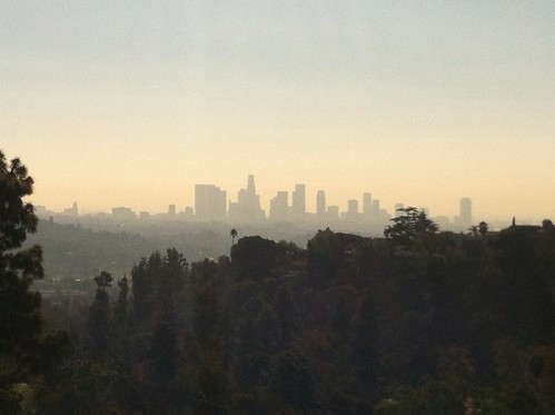 Downtown LA from Griffith Park