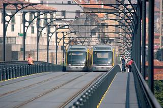 Metro de Oporto (copyright Metro do Porto).