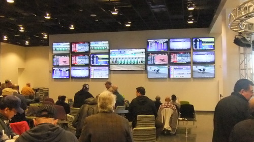 First Floor Simulcast Area