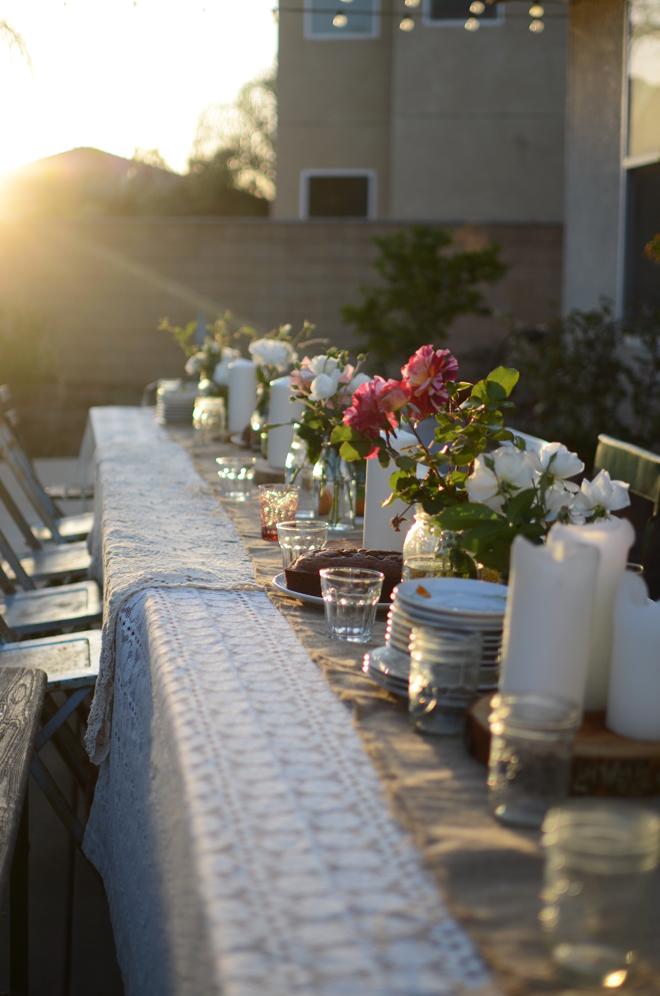 fall dinner