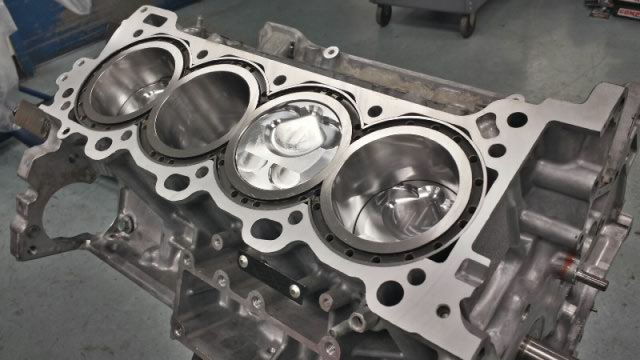 2ur-gse forged pistons