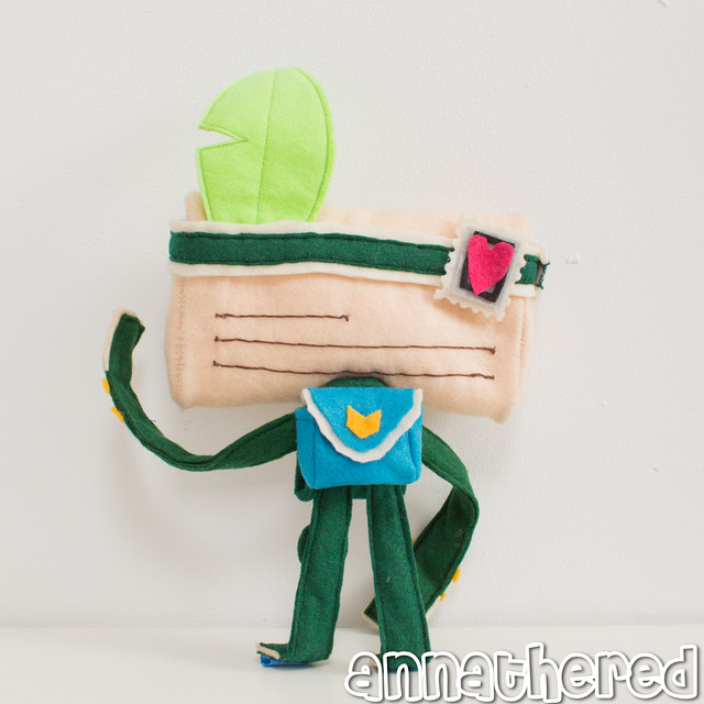 stuffed stuff: Tearaway iota Vita case