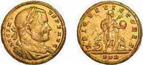 solidus of Emperor Licinius I
