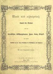 """British Library digitised image from page 5 of """"Waadtland wird schweizerisch, oder die Eroberung der Waadt durch die Berner unter dem Oberfehle des Feldhauptmanns H. F. Nägeli, mit einem Rückblick auf die ältere Geschichte der Westschweiz und Savoyens, et"""