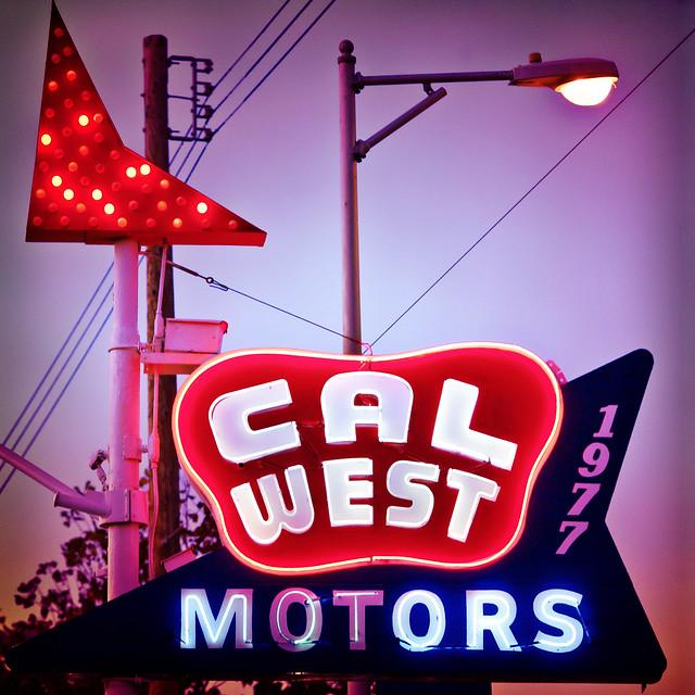 Cal West Motors Kind of Night