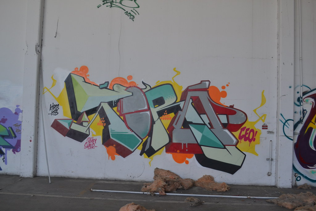 TORO, CEO, CA, Graffiti, The yard, Chill Spot, Oakland