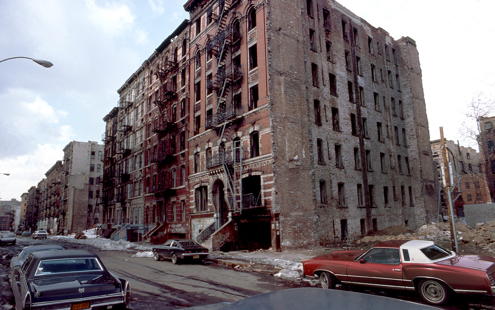 BUILDINGS IN THE BRONX