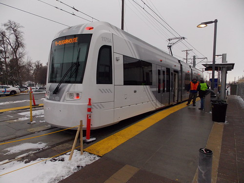 S-Line Streetcar Salt Lake City, Utah
