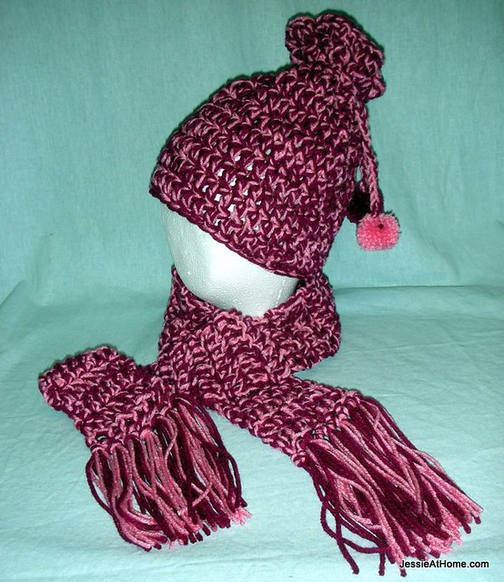 Crochet Scarf Patterns Worsted Weight : Eli Hat: Worsted Weight ~ Free Crochet Pattern Jessie At ...