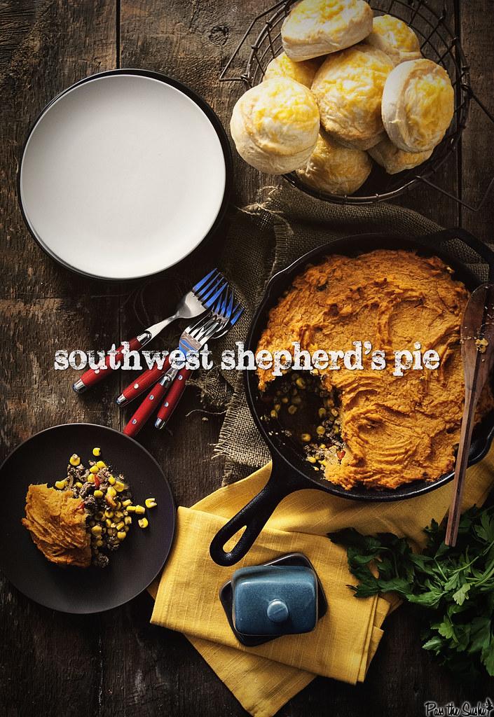 Southwest Shepherd's Pie via GirlCarnivore.com