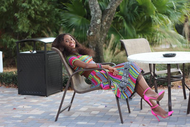 Playful Adventures 046, Clear pink sandals, Swayhair, Full skirt