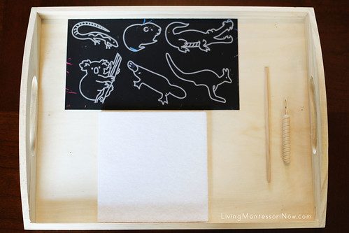 Australia Scratch Kit Punching Activity