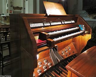 Organaria. Padova, Chiesa di Sant'Andrea
