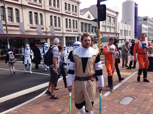 Star Wars in Dunedin, New Zealand? Wrong trilogy