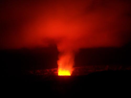 Halemaʻumaʻu – kráter sopky Kilauea a zakázaný výlet k lávovému peklu