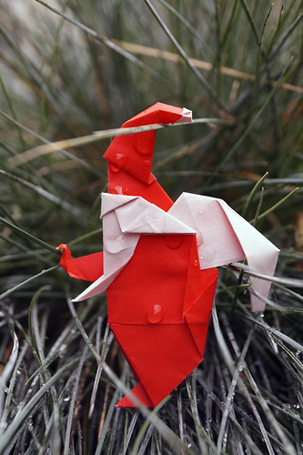 Origami Santa / Origami Babbo Natale (Luigi Leonardi)