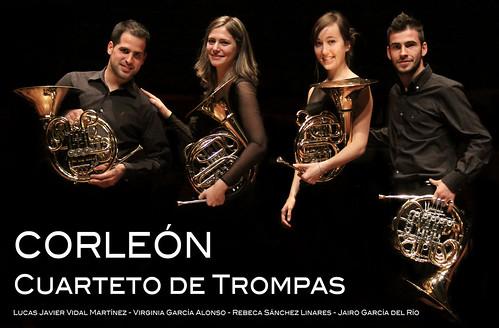 CORLEÓN - CUARTETO DE TROMPAS by juanluisgx
