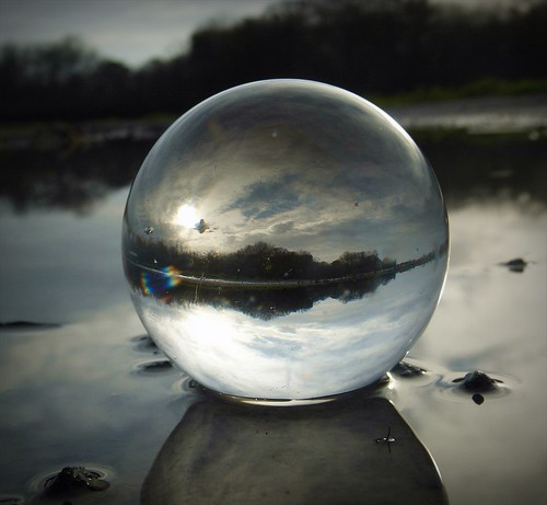 Flooded field in crystal ball