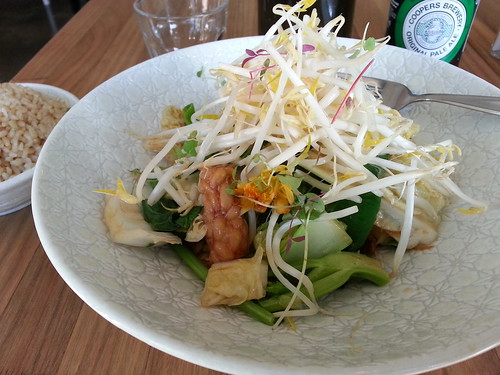 Green Sister Stir-fry at Sister of Soul, St Kilda