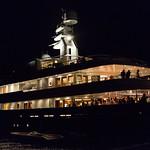 The boat at night