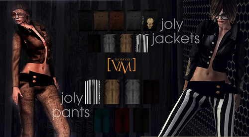 [VM] VERO MODERO  JOLY Jackets and Pants All Patterns