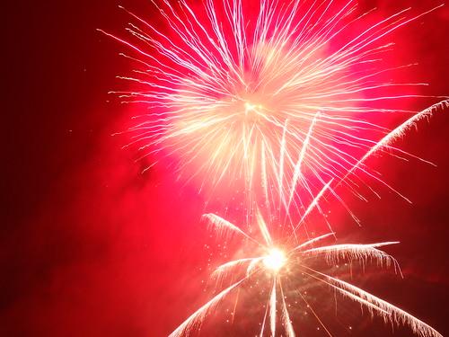 Feuerwerk sprüht der Funke Flammenglut 1119