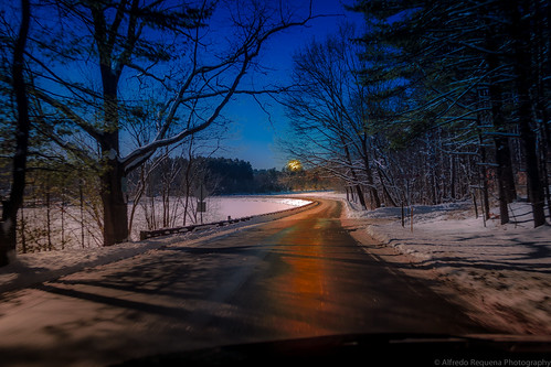 Winter Roads by Alfredo Requena Photography