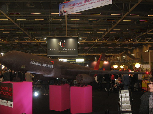 Chocolate airplane