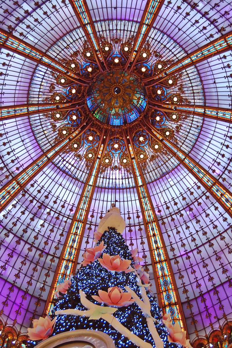 Sapin Galeries Lafayette (3)