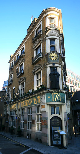 The Black Friar, Blackfriars, London