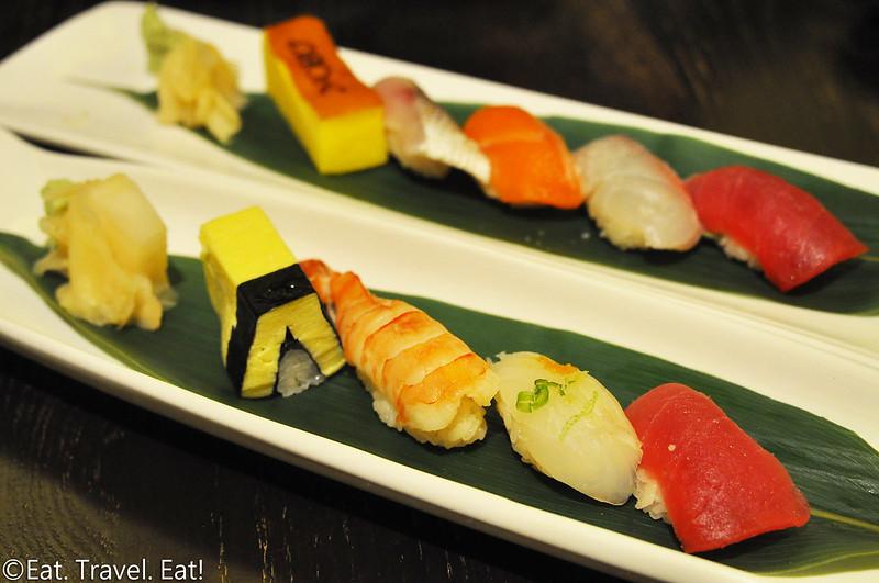 Nobu (Caesars Palace, Nobu Hotel)- Las Vegas, NV: Nobu Signature, Chef Creation Omakase Sushi