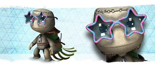 LittleBigPlanet Neujahrs Feuerwerkskostüm
