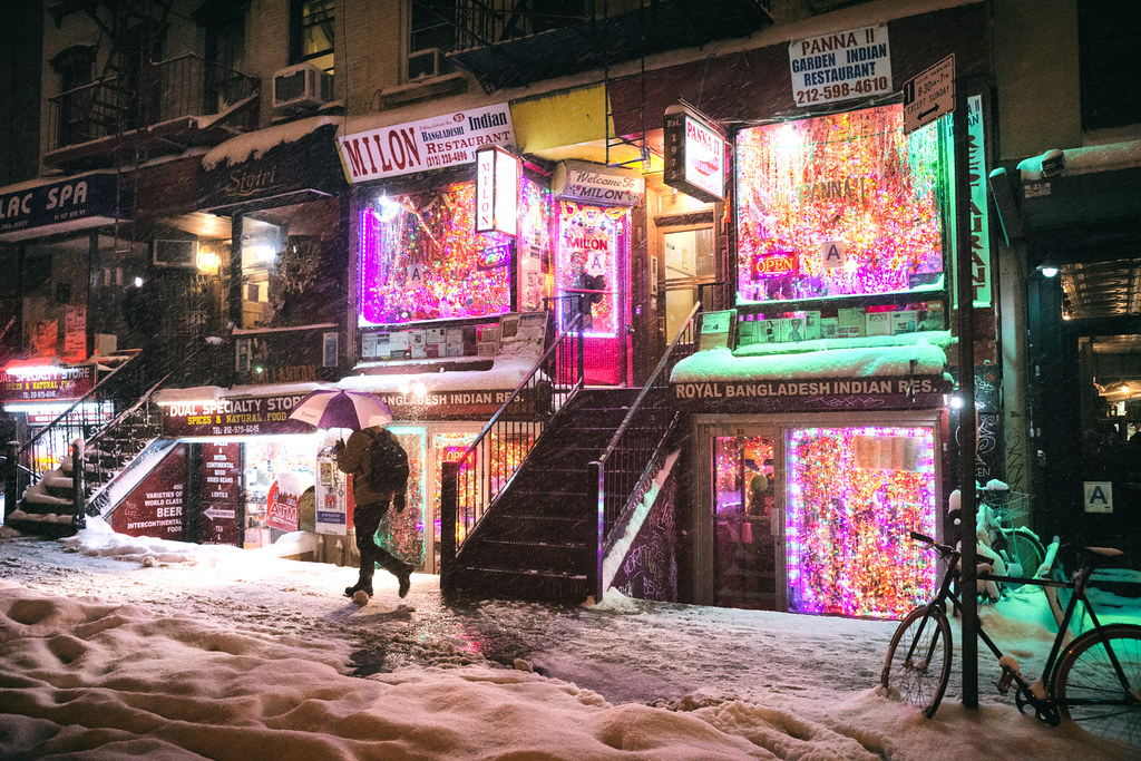 New York City - Snow - Janus - East Village - Restaurants