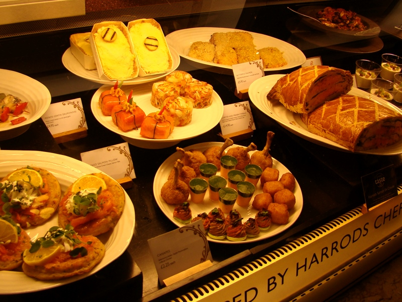 Harrods food hall