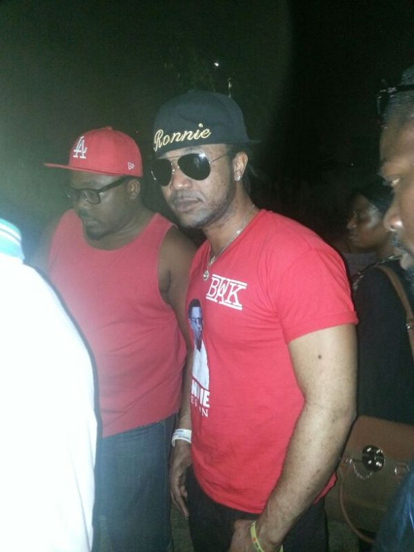 Bright arrives in Ghana for Ronnie Coches funeral