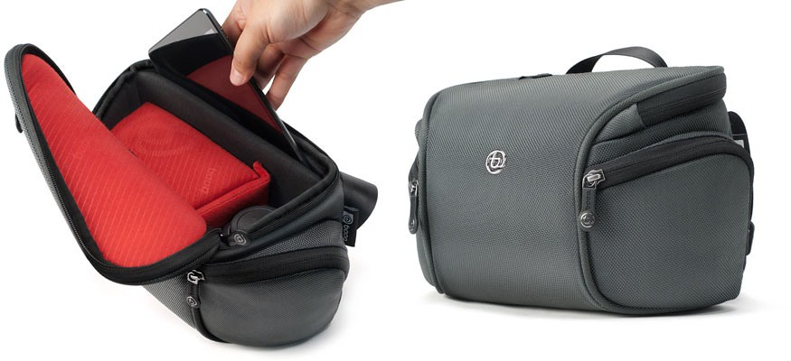 Booq's Python Mirrorless Bag Carries Camera And iPad Mini